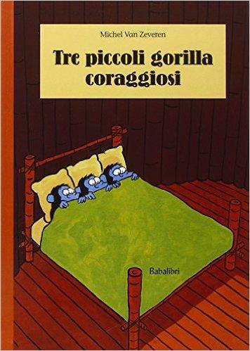 Tre piccoli gorilla coraggiosi, copertina