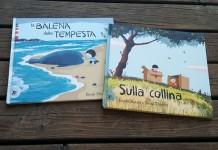 cover dei libri La balena della tempesta e Sulla collina