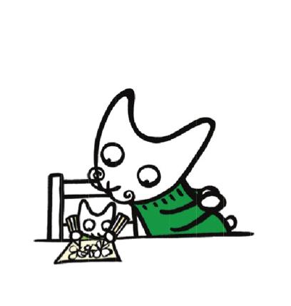il bambino fa un disegno