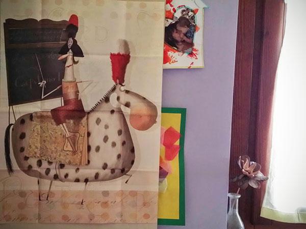 """la copertina-poster di """"La maestra è un Capitano"""", Coccole books"""