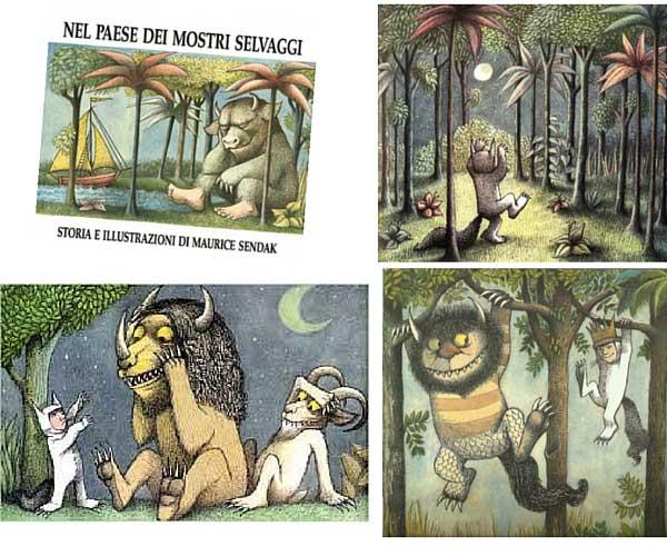 Storie di paura per bambini_Nel paese dei mostri selvaggi