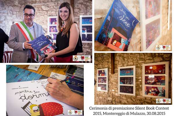 Cerimonia premiazione Silent Book Contest 2015