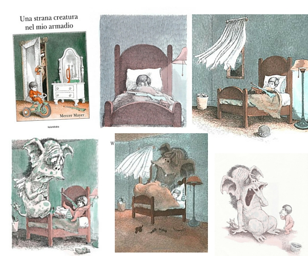 Storie di paura per bambini_Una strana creatura nel mio armadio