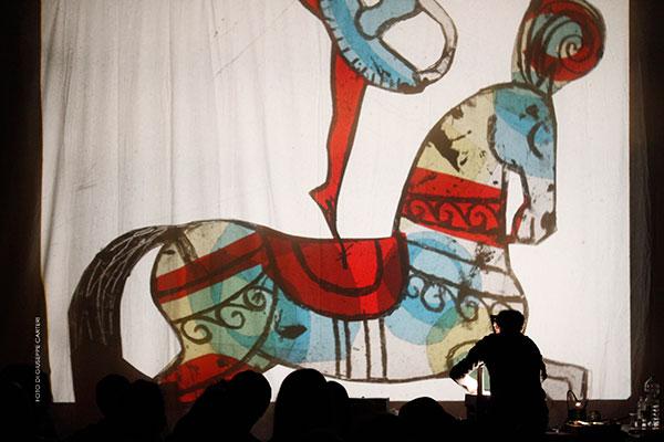 il teatro disegnato di Gek Tessaro