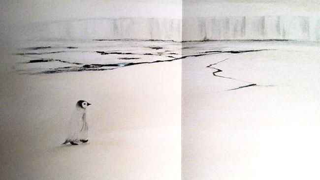 Il pinguino senza frac - un'edizione di lusso