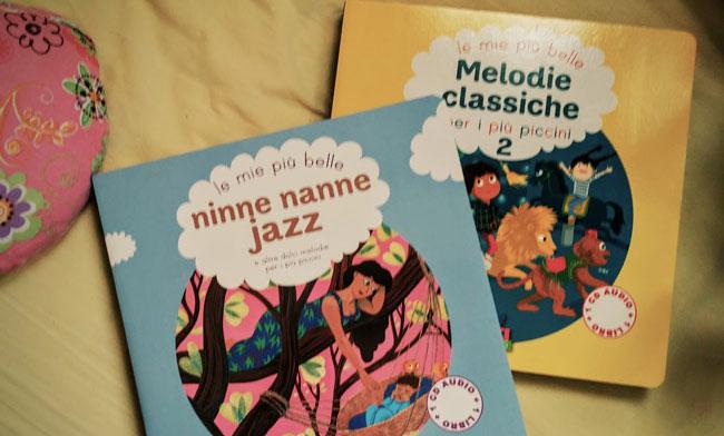 copertine di Ninne Nanne Jazz e Melodie Classiche per i più piccini 2