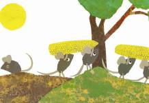 i topolini fanno le scorte