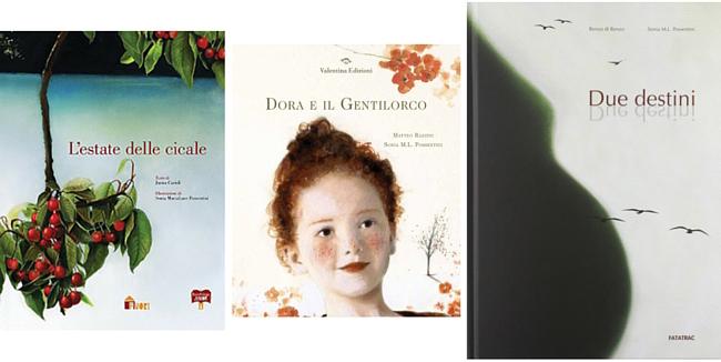 Tre libri illustrati da Sonia Maria Luce Possentini