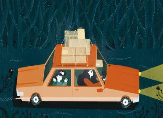 il viaggio in macchina