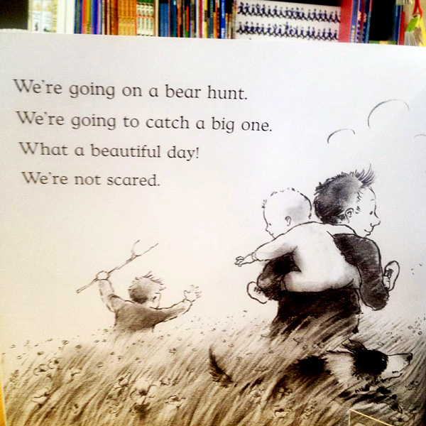 We're going on a bear hunt -3