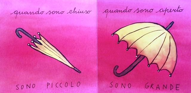 ombrello chiuso