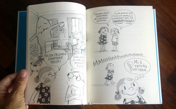 pagine interne di Dory fantasmagorica