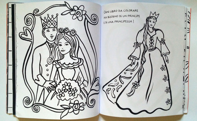 il grande colouring book interni