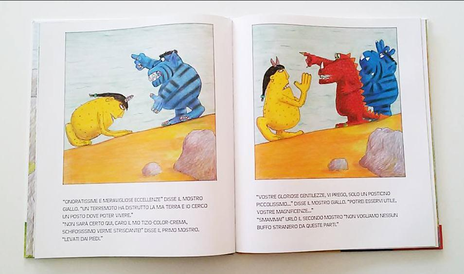pagine interne di Tre mostri