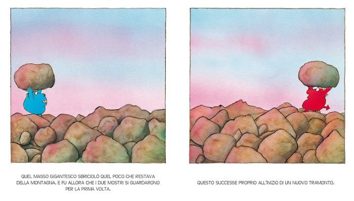 la terra si riempie di sassi