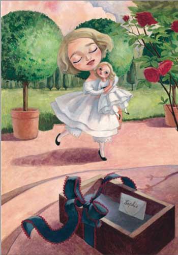 la bambola di cera