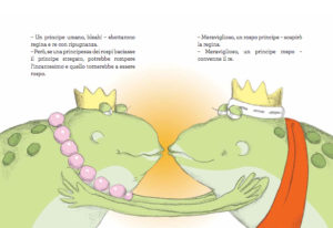 I ranocchi si baciano