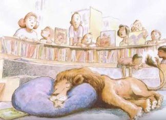 il leone dorme
