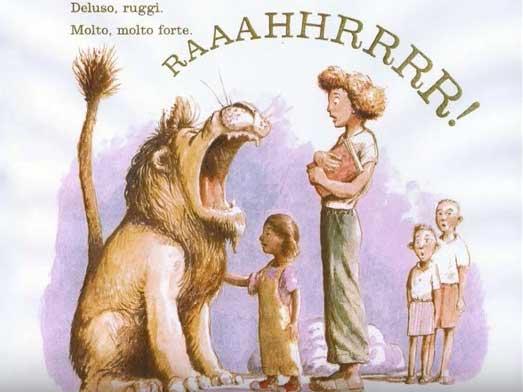 il leone ruggisce