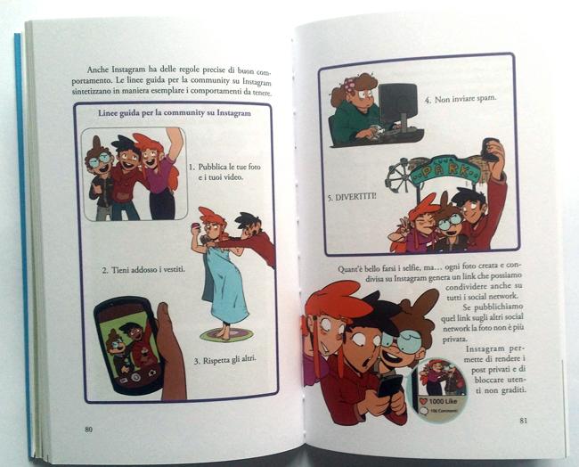 interni del libro Il web è nostro