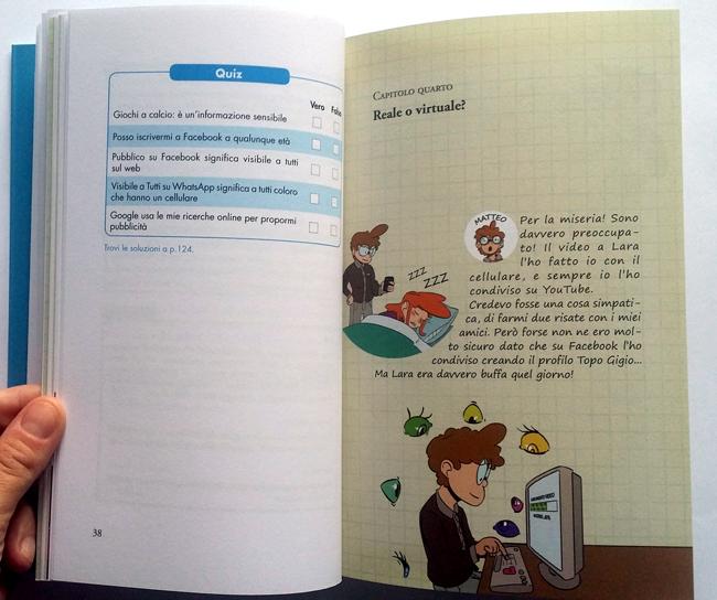 esempio di quiz nel libro