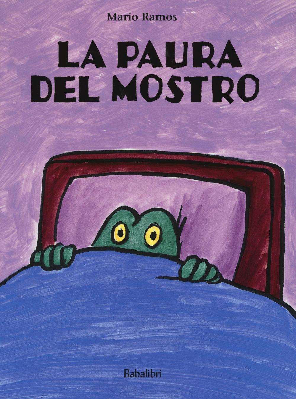 copertina di La paura del mostro