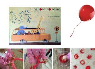 Il palloncino rosso con i bambini