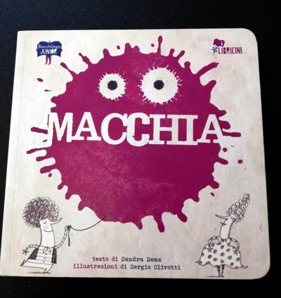copertina di Macchia