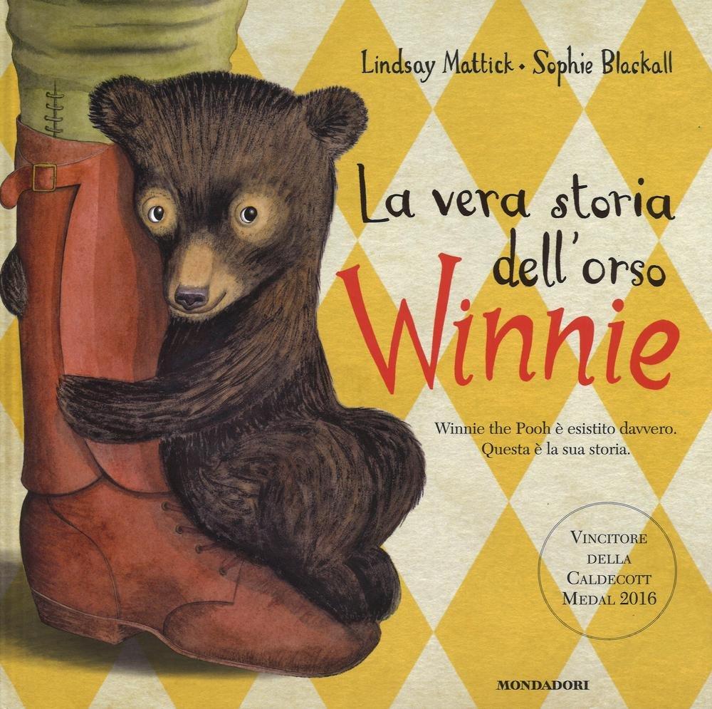 copertina del libro La vera storia dell'orso Winnie