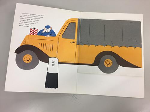 interni de L'uomo del camion