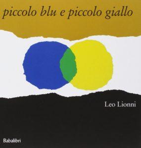 copertina di piccolo blu e piccolo giallo