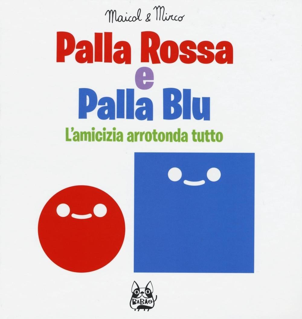 copertina di Palla rossa e palla blu