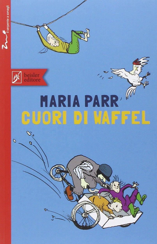 copertina di cuori di waffel