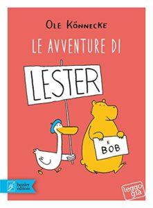 copertina di Le avventure di Lester e Bob
