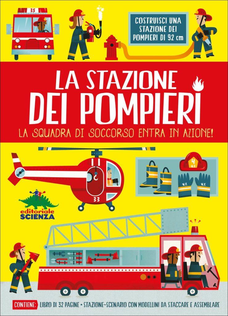 copertina di La stazione dei pompieri
