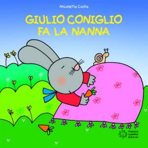 copertina di Giulio Coniglio fa la nanna