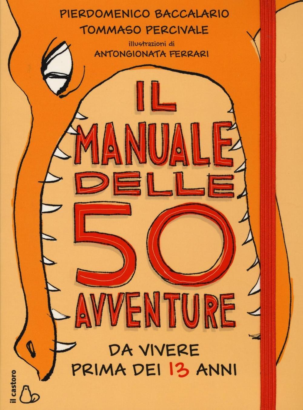 copertina de Il manuale delle 50 avventure