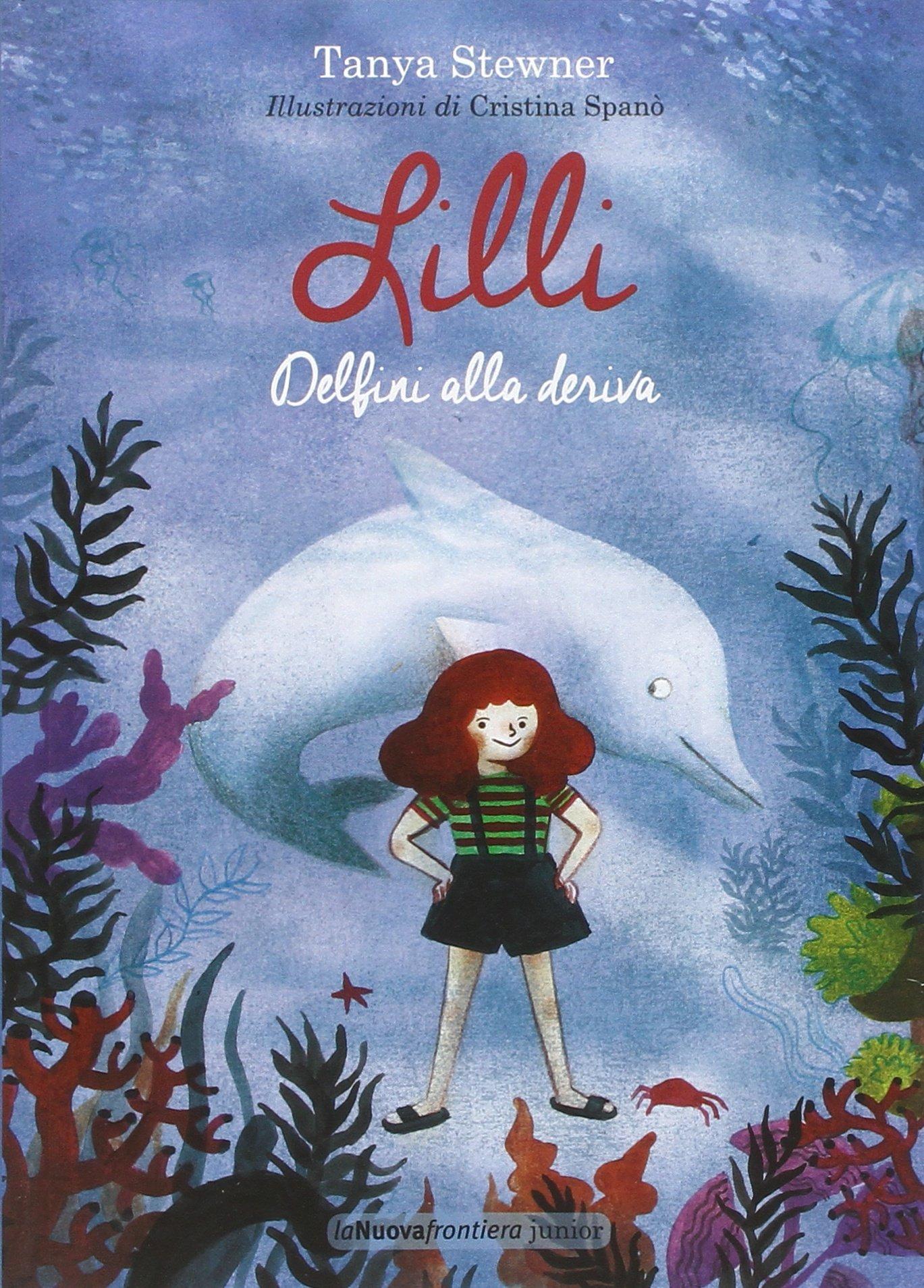 copertina di Lilli Delfini alla deriva