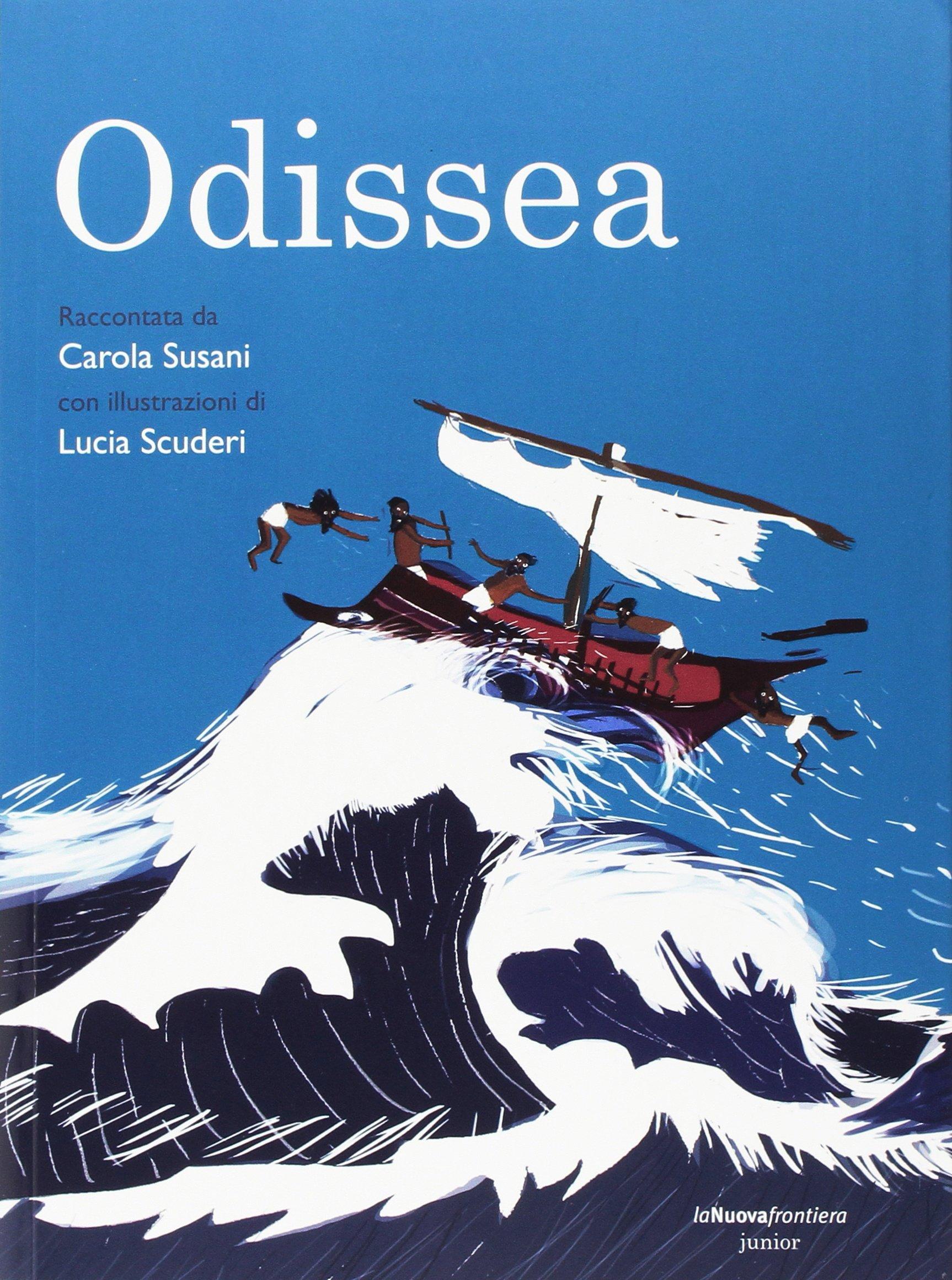 copertina di Odissea