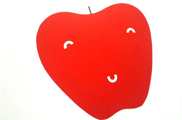 la mela rossa di ghirighì