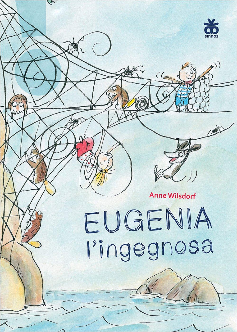 copertina di Eugenia l'ingegnosa