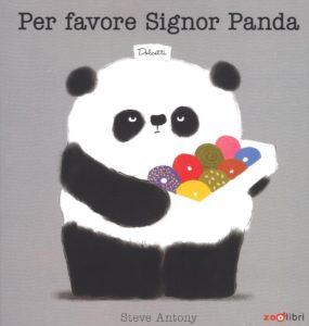 copertina de Per favore signor Panda
