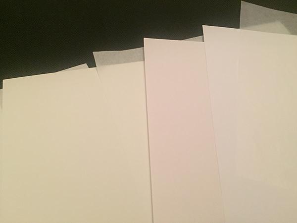 fogli di carta