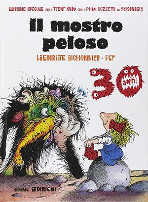 copertina de Il mostro peloso