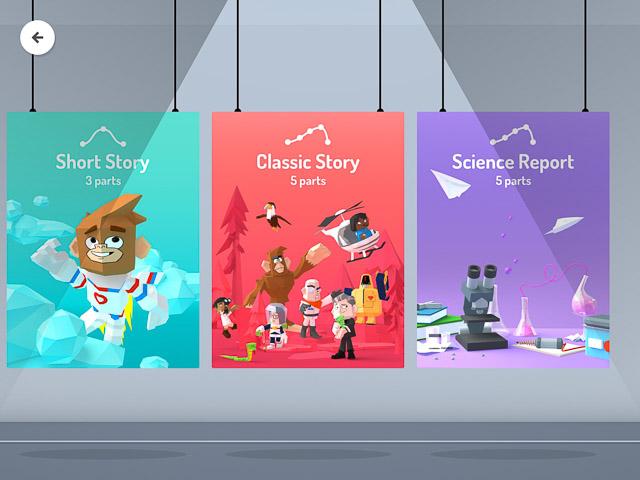 toontastic 3d le tre storie