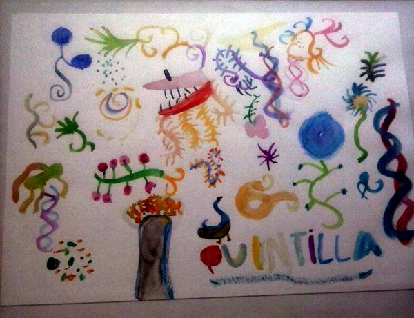 disegno di Quintilla