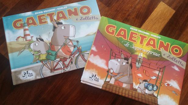 Gaetano e Zolletta - copertine