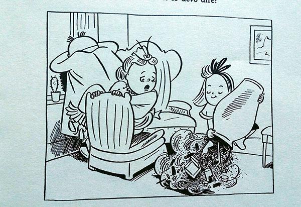 Susanna rovescia il vaso