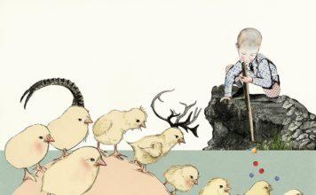 bimbo e pulcini