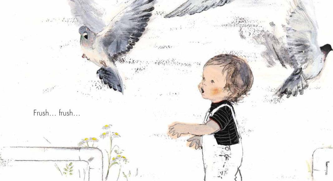 i piccioni volano via